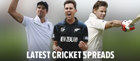 Experience cricket spread betting.  View Sporting Index's cricket spreads