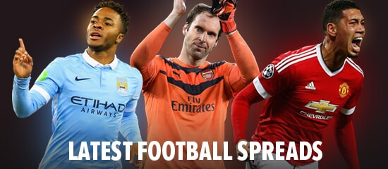 View our football spreads and bet with Sporting Index