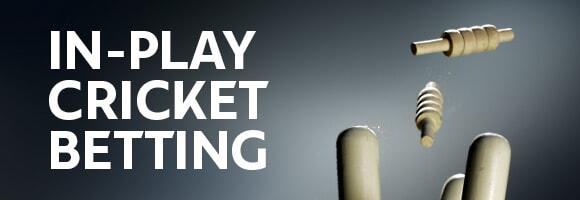 In play betting cricket morre joelmir betting bandai